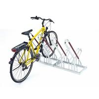 2 Stellpl/ätze einseitige Radeinstellung Anlehnb/ügelparker