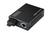 DIGITUS Media Converter. Singlemode 10/100Base-TX to 100Base-FX. Incl. PSU