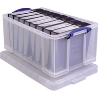 Really Useful Box Aufbewahrungsbox 64C 44x31x71cm 64l transparent