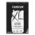 CANSON Bloc de 40 feuilles de papier XL DESSIN Noir 150g A3