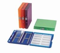Microscope slide boxes Premium Plus Colour Orange