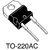 STPS1545D Schottky Diode, 45V / 15A, TO-220AC 2-Pin