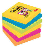 Haftnotizen Post-it Super Sticky Notes 6546SR