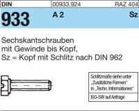 DIN933 M6x16