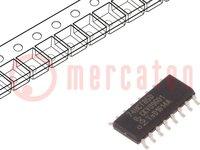 IC: digitális; 4bit, komparátor; Sorozat: HCT; SMD; SO14; 4,5÷5,5VDC