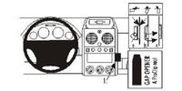 Brodit Fahrzeughalter ProClip für Citroen Berlingo 2 03-08