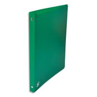 5 ETOILES Classeur � 4 anneaux de 15 mm en polypropyl�ne 5/10e vert