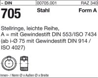 Stellringe A9x18x10