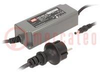 Tápegység: impulzusos; LED; 60W; 36VDC; 1,67A; 90÷264VAC; IP67; 410g