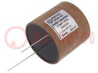 Kondensator: aluminium-polipropylen-papier; 2uF; 600VDC; ±5%