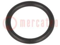 Guarnizione O-ring; NBR; D:2mm; Øint:22mm; M25; nero; -30÷120°C