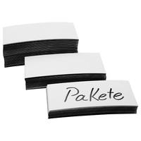 Magnet-Etiketten, Größe 100 x 20 x 0,6 mm