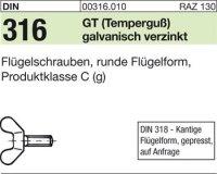 DIN316 M4x12