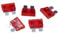 uniTEC KFZ-Flachstecksicherungen 10 Ampere, Inhalt: 5 Stück (11580033)
