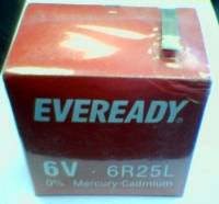 Eveready Blockbatterie ZM 6R25 Fanal Zink Kohle - 1er Pack