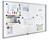 Legamaster Schaukasten PREMIUM Whiteboard für den Innenbereich, 9x DIN A4