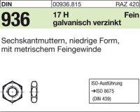 Sechskantmuttern M20x1,5