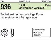 Sechskantmuttern M16x1,5