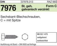 Blechschrauben C3,9x25