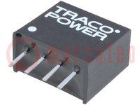 Transductor: CC/CC; 1W; Uentr:10,8÷13,2V; Usal:12VCC; Isal:80mA