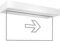 LED-Notleuchte ws 3h, f.AP-/Deckenmon. SLX24LEDi EN10077371