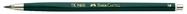 Fallminenstift TK® 9400, ohne Clip, Minenstärke: 2,00 mm, Härtegrad: 3B, schwarz