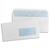 5 ETOILES Boîte de 500 enveloppes blanches 75g DL 110X220 mm fenêtre 45x100 mm auto-adhésives
