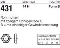 Rohrmuttern BG11/4