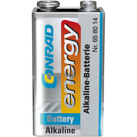 Conrad Energy 658014 Alkaline-Manganese 9V Battery