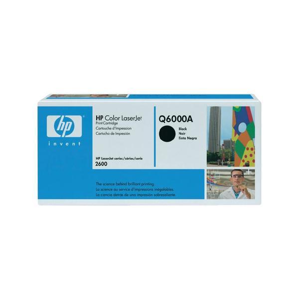 Toner HP 124A Q6000A, černá 987001