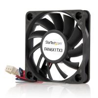 StarTech.com 60x10mm Ventilator voor Computerbehuizing met Kogellagers en TX3 Connector