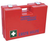 Erste-Hilfe-Koffer Typ K 010 mit Füllung DIN 13157, orange