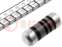 Ellenállás: thin film; SMD; 0204 minimelf; 0,39Ω; 0,4W; ±5%