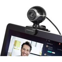 BASETech BS-WC-01 Webcam 640 x 480 Pixel USB 2.0 Schwarz