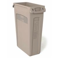Container 87 L MIT Griffen B 27,9 x T 55,8 x H 76,2 cm Kunststoff beige