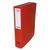 5 ETOILES Boîte de classement dos de 6 cm, en polypropylène 7/10e rouge