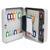5 ETOILES Armoire � cl�s capacit� 48 cl�s grise - Dimensions : L18 x H25 x P8 cm