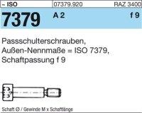 Paß-Schulterschrauben 8f9M6x25