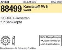 KORREX-Rosetten 803-M3x2,0