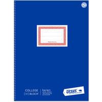 Collegeblock, kariert 5 mm, A4, 70 g/m², RC, weiß, 80 Blatt