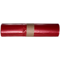 WBV LDPE-Abfallsack 70 L rot 575 x 1000 mm, Typ 60