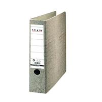 Archivordner A4 7,5cm braun, Lederpappe