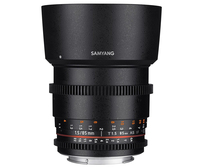 Samyang 85mm T1.5 VDSLR AS IF UMC II SLR Teleobjektiv Schwarz