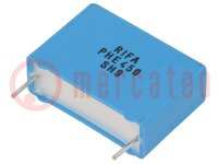 Condensator: polypropyleen; 10nF; 22,5mm; ±5%; 26x9x18,5mm; 3kVDC