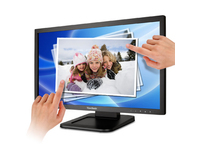 "22"" 1080p LED Touch Monitor w/1920x1080, 2-points Touch, Tilt stand, DVI/VGA, 2xUSB & VESA 100x100mm compatible 22-24"""