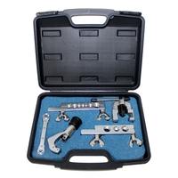 Set Bördelgerät 45° zöllig mit Rohrschneider, Ratschenschlüssel in Koffer