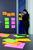 Post-it® Meeting Notes 6845-SSP, 4er Pack, Neonfarben, 200x149mm,45 Blatt/Block