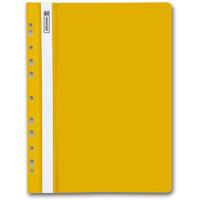 aus PVC Eurolochung gelocht 25 Schnellhefter DIN A4 orange Farbe