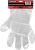 Untersuchungshandschuhe 558-1 TEGERA Classic, Polyehtylen, geprägt
