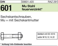 DIN601 M20x200